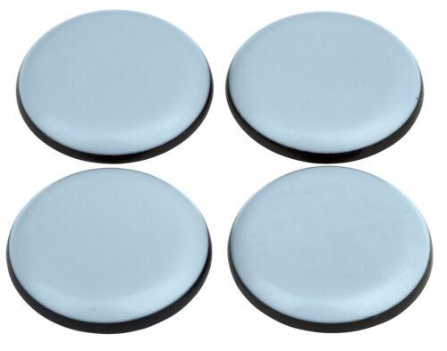 4 Stück MÖBELGLEITER Teflon rund selbstklebend Ø 25 mm Untersetzer
