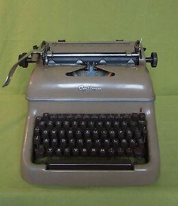Machine à écrire-Optima-m12-bon état-Beige-e - Optima - M12 - guter Zustand - beigeafficher le titre d`origine leFpvQq5-08054018-201930706