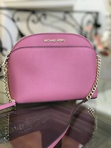 884a3249d120 Image is loading NWT-AUTHENTIC-MICHAEL-KORS-EMMY-MD-CROSSBODY-SAFFIANO-