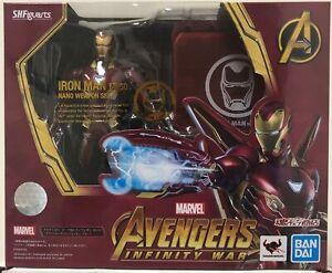 SH Figuarts Avengers Infinity War Iron Man Mark 50 Nano Weapon Set