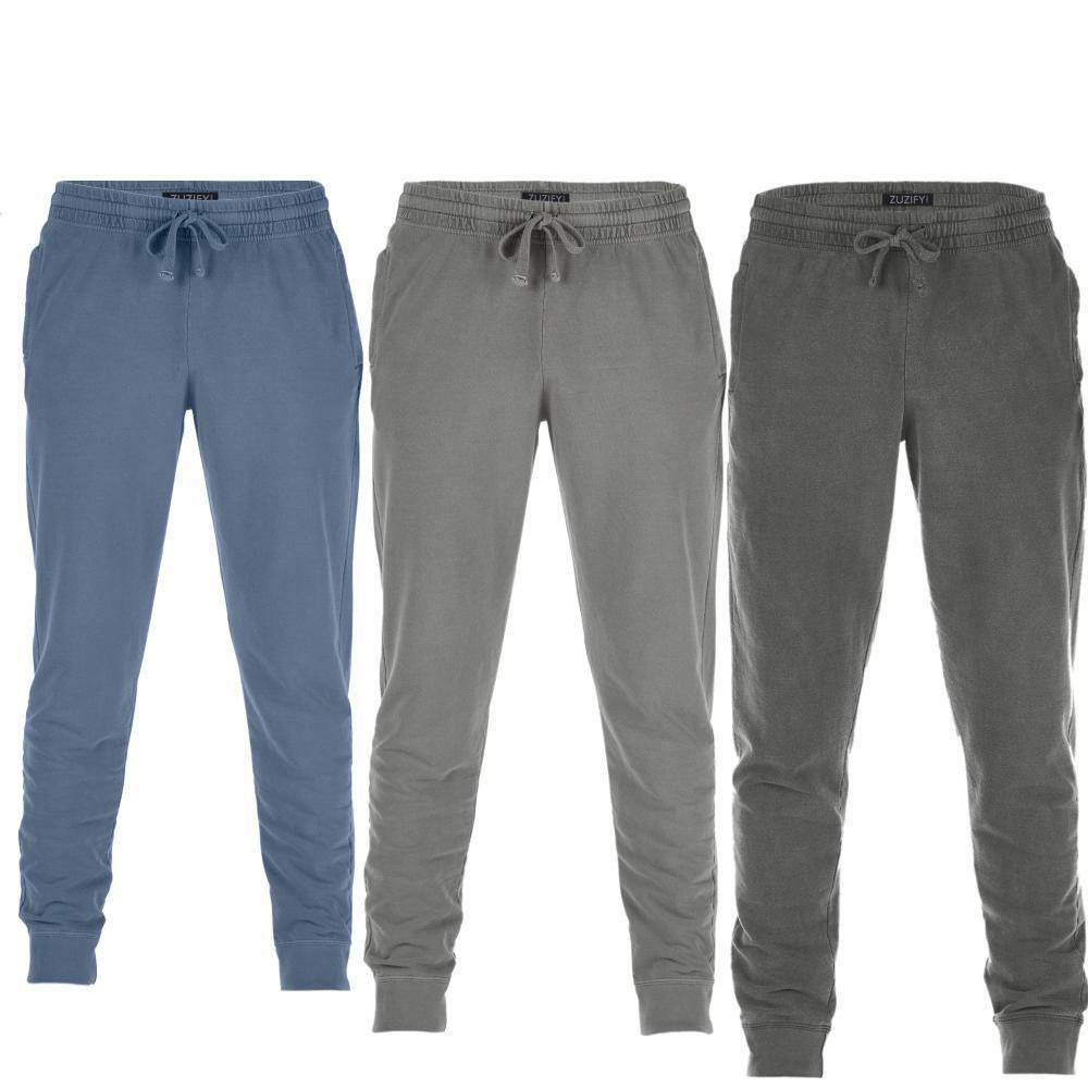 ZUZIFY Soft-Washed French Terry Jogger Pants. JA1042