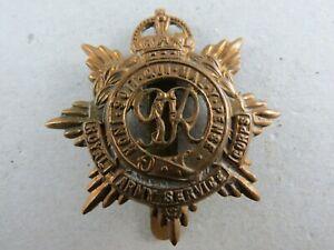 Military-Cap-Badge-Royal-Army-Service-Corps-RASC-British-Army-K-C