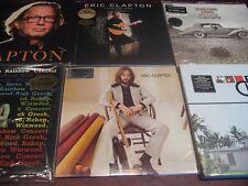 ERIC CLAPTON S/T VALUABLE RARE COLLECTORS 180 GRAM UK DELUXE PACKAGING +7 LP SET