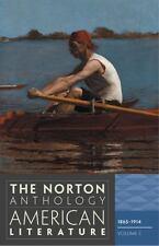The Norton Anthology of American Literature, 1865-1914 Vol. C by Nina Baym, Jerome Klinkowitz and Philip F. Gura (2011, Paperback)