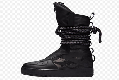 New Nike SF Af1 Hi Air Force 1 Special Field Triple Black Dark Grey (aa1128  002) | eBay