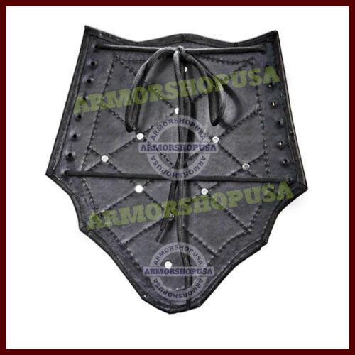 En cuir cloutées médiéval Bracer paire gant Arm Guard live-action GN Armour Society for Creative anachronisme nouveau