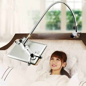 """Ipad Stands For Bed longest 360º turn bed tablet holder stand fr ipad pro 12.9""""/,ipad"""