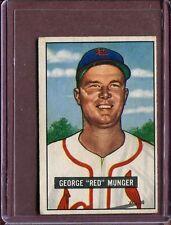 1951 Bowman George Munger #11 Baseball Card