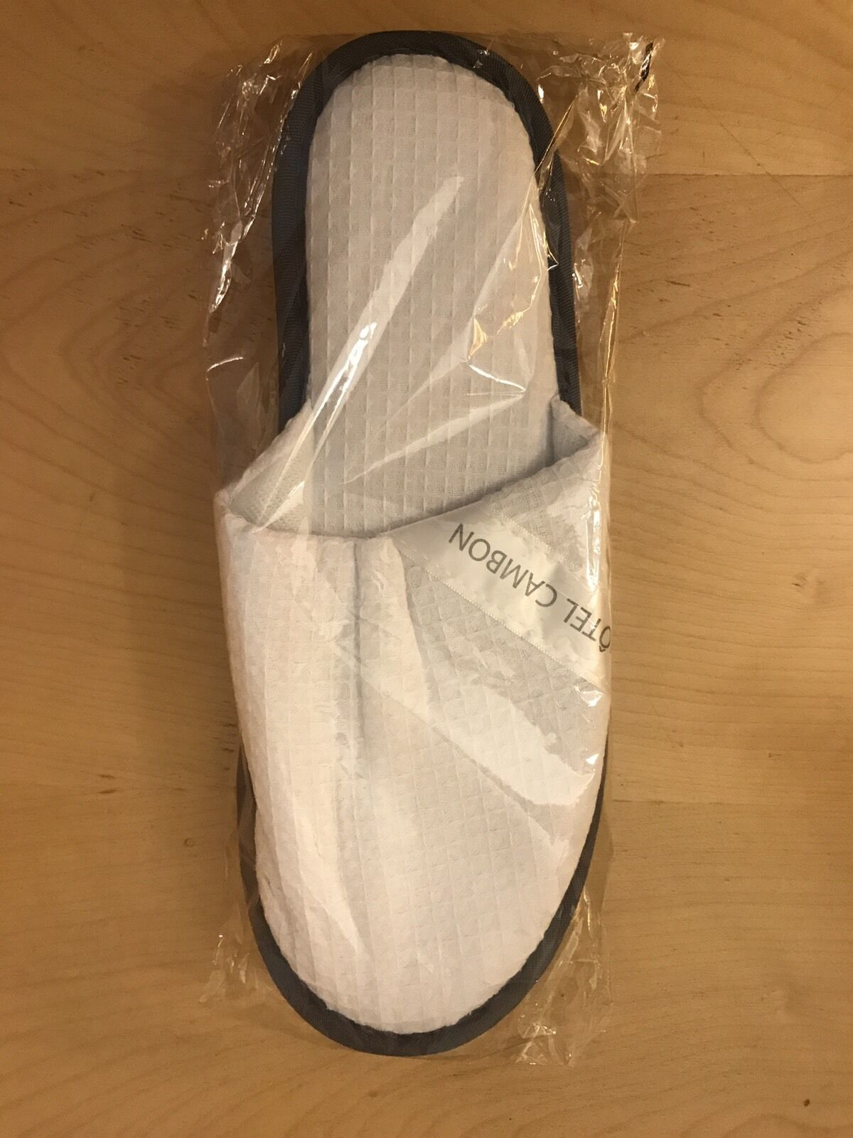 Hotel Cambon Slippers From Hotel Cambon, Rue Cambon, Paris