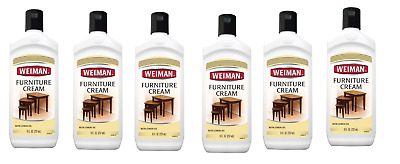 6 Pack Weiman Furniture Cream With