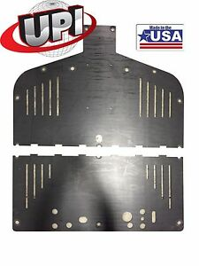 2013-2017 POLARIS RANGER 900 RANGER 1000 UHMW POLY SKIDPLATE USA MADE