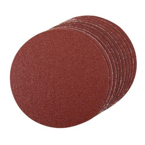 Silverline Self-Adhesive Sanding Discs 150mm Pack of 10 Various Grits
