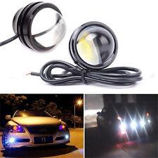 15W 12V Ultra Bright LED Light Car Eagle Eye Lamp Fog Daylight SUV Running Light