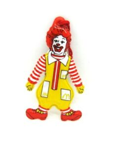 Ronald-McDonald-Vintage-1983-Vinyl-Hanging-Christmas-Ornament-Adverting