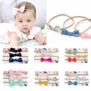 3Pcs-Fashion-Elastic-Soft-Baby-Headband-Unisex-Floral-Bowknot-Headwear-Cotton