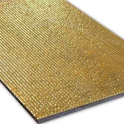 Wand Dekor Fliese Gold 30x60cm