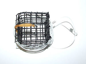 Metal crab lobster trap cage pot pier boat rod sea fishing for Fishing pole crab trap