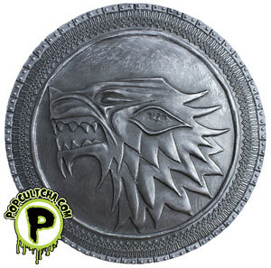 GAME-OF-THRONES-Stark-Shield-5-5-Wall-Plaque-Exclusive-Dark-Horse-NEW