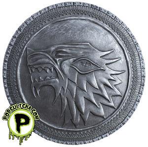 GAME-OF-THRONES-Stark-Shield-5-5-034-Wall-Plaque-Exclusive-Dark-Horse-NEW