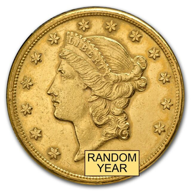 $20 Liberty Gold Double Eagle (Cleaned) - SKU #9119