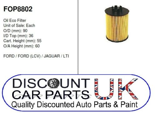 2.0 TDCi 115 16v 1998cc Diesel O.E QUALITY OIL FILTER  Ford Mondeo Mk 3 00-07