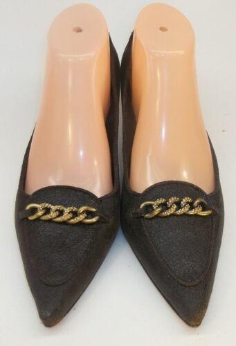 de 5502 Wos talons 5 Feldman chaussures 9 à texturé brun chaton chaîne m Beverly cuir nous en wm8OvNn0
