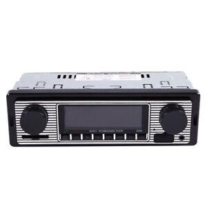 Reproductor-de-MP3-Bluetooth-Radio-Vintage-para-coche-Audio-estereo-de-USB-R1F8