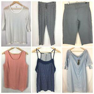 Womens-Size-12-Bulk-Lot-Casual-Top-Western-Winter-Comfort-Cami-Pants-W350