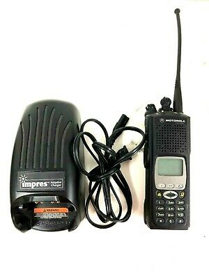 Motorola XTS5000 800mhz M3 W//FPP Impres Battery And Charger Upgraded Flash