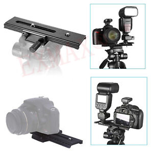 5bde75fe6fe5 2 Way Macro Shot Focus Extension Rail Slider for CANON NIKON SONY ...