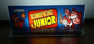 DONKEY-KONG-JUNIOR-Backlit-4-034-x-11-034-Marquee-w-The-Arcade-Light-Display