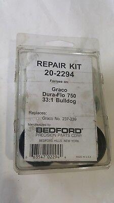 DuraFlo 750 Leather//Teflon 33:1 Bull Bedford 20-2294  237-239  Kit