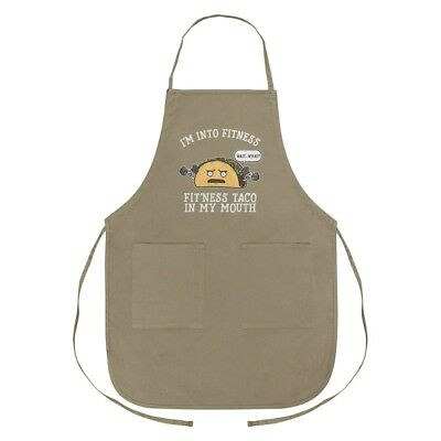 I Heart Love Food Truck Cooking Apron With Pockets