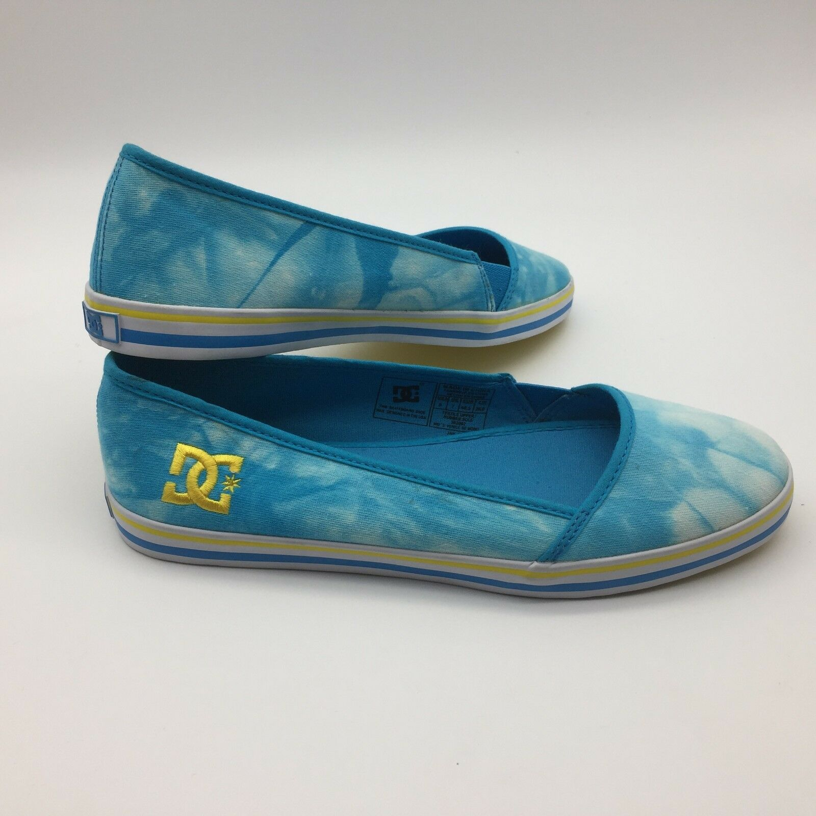 DC Women's shoes  Slip On  Skybluee Yellow