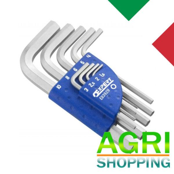 2019 Moda Serie Da 9 Chiavi Maschio Corte Esagonale Metriche Expert (pastorino) Cod E11392
