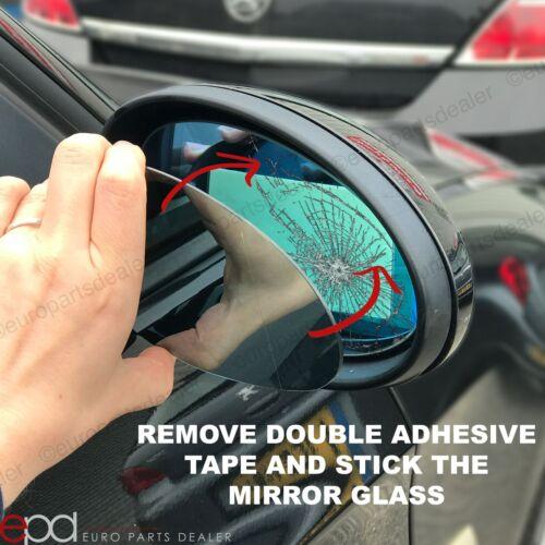 For Renault Twingo 2011-2014 left hand side wing door mirror glass