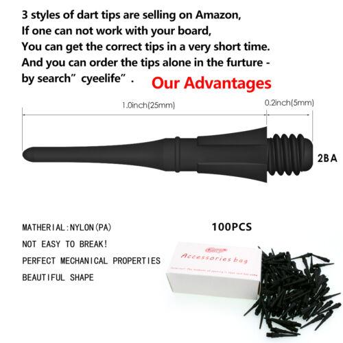 Soft tip darts 11g+100Tips+16Flights+12Aluminum shafts,Light small darts set