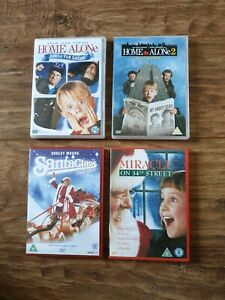 Four-Christmas-Movies-For-The-Family-on-Region-2-DVD-Very-Good-Condition