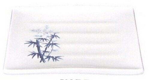 Bamboo Melamine Japanese Sushi Plate 7.75x6.75in 508-BZ S-2331