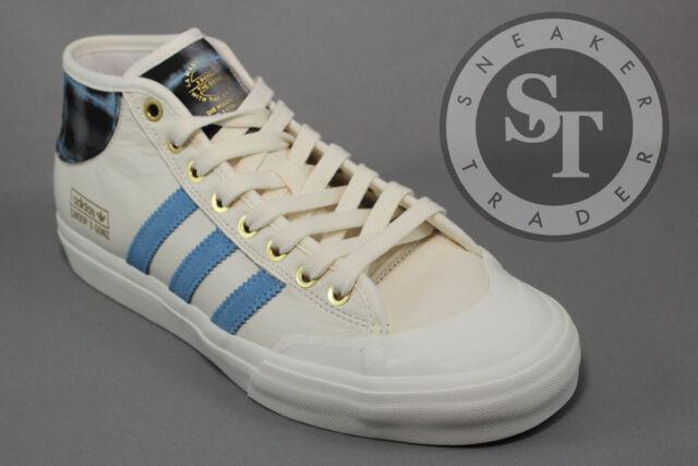 c567bd68a1a304 adidas Snoop Gonz Matchcourt Mid Chalk White Columbia Blue Metallic Gold  By4542 US 9.5