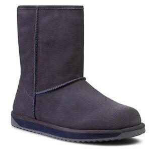 Emu Australia Paterson Lo Indigo W10771 Boots UK5 EU38 JS21 98 www