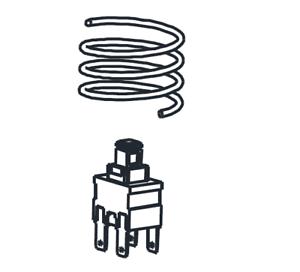 Nilfisk Interrupteur Puissance Commutation pied entrera Interrupteur Viper dsu12//dsu15