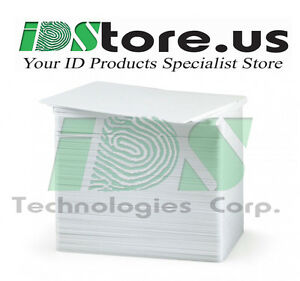 100-Blank-White-PVC-Cards-CR80-30-Mil-Graphics-Quality-Free-Shipping