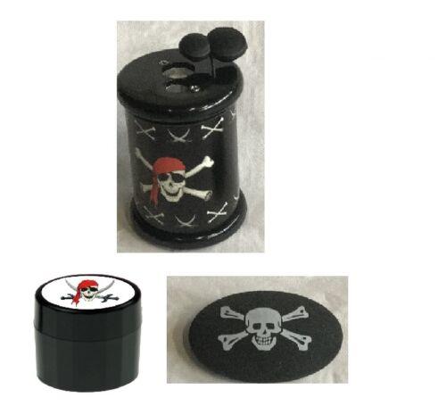 Radierer Döll  Pirat Piraten  Stempel Spitzer