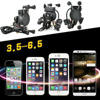 X-grip Cell Phone Holder Universal For Motorcycle Bike Bicycle Handlebar Mount