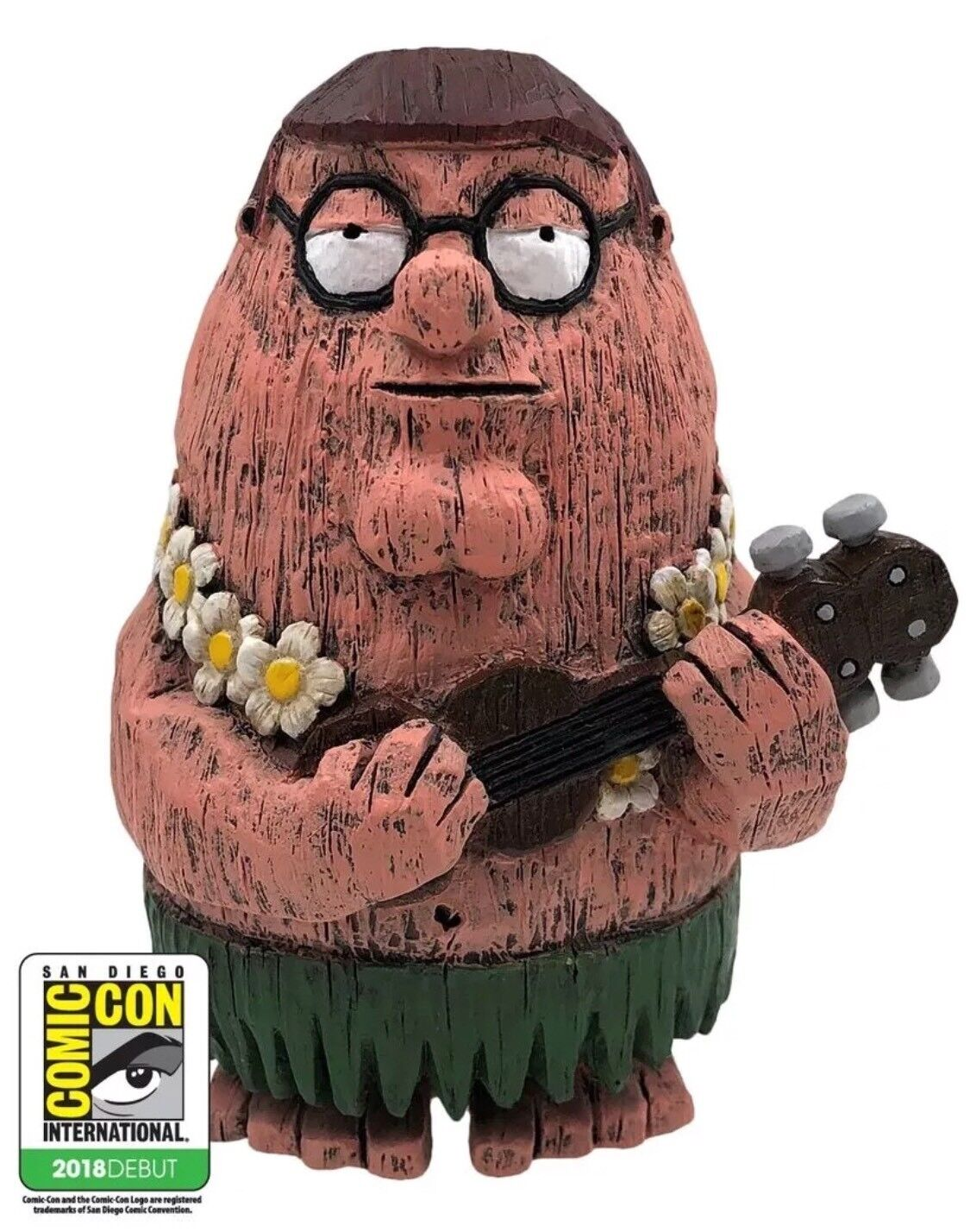 SDCC 2018 Exclusive toddland Eekeez Peter Griffin Family Guy Tiki Hula In Hand