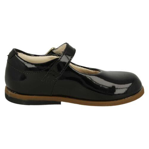 de Sky negro inteligentes primeros Drew Zapatos niñas y para charol accesorios G F zapatos Clarks BXnfEExvt
