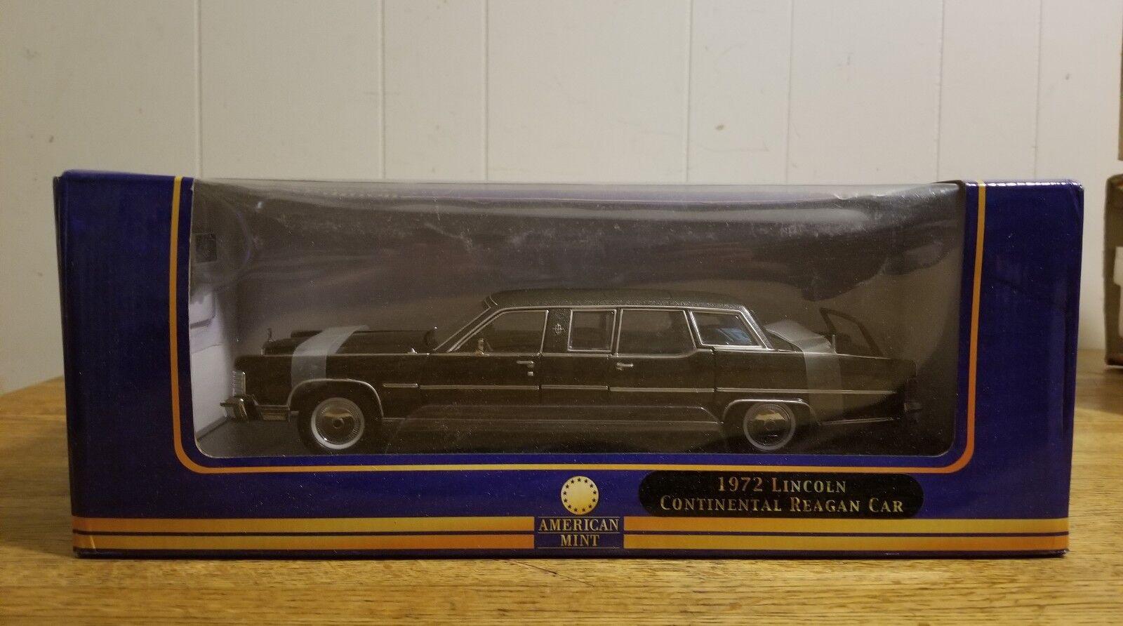 1972 Lincoln Continental Reagan Limousine 1 24 Diecast Car Model