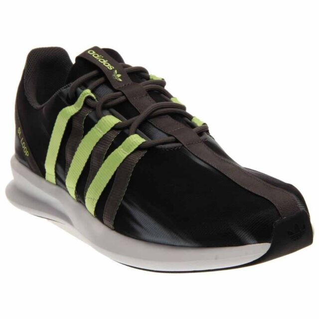 brand new 53536 22cfd adidas SL Loop Racer Running Shoes- Black- Mens
