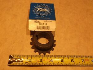 4016 CPLG Flange 1.125 KW MSC 4016 1 1//8 Bore Martin Chain Coupling Hub